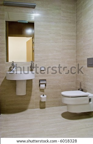 bathroom - stock photo