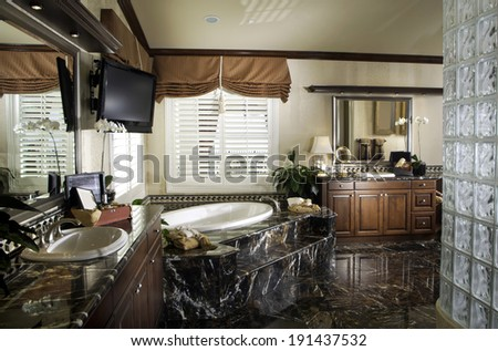 Bathroom Interior Architecture Stock Images, Photos of Living room, Dining Room, Bathroom, Kitchen, Bed room, Office, Interior photography.  - stock photo