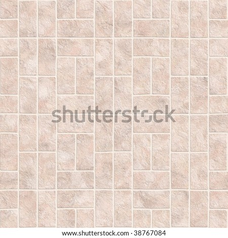 Bathroom or kitchen tiles texture in square format - stock photo