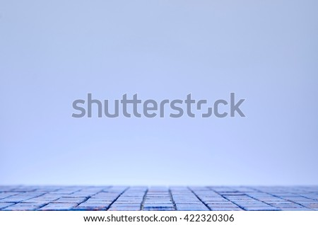 Bathroom tiles - stock photo