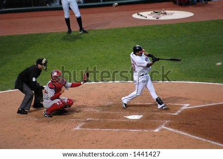 Batter up - stock photo