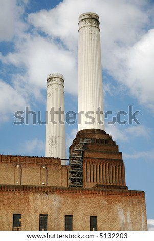 Battersea Power Station. - stock photo