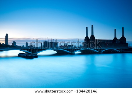 Battersea Power Station ,London - stock photo