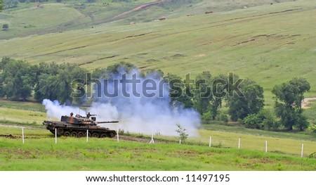 Battle Scene - stock photo