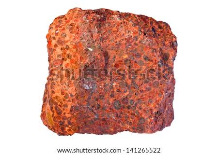 Bauxite (ore of aluminum) - stock photo