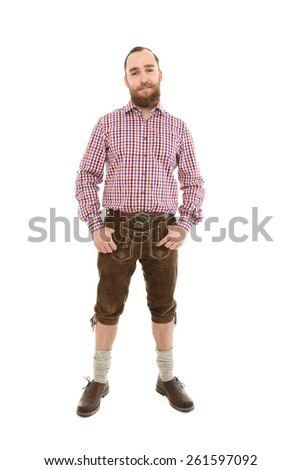 Bavarian Man - stock photo