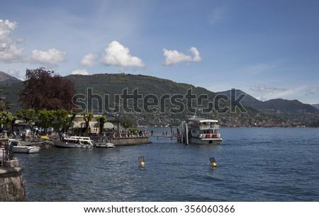 Baveno, Lago Maggiore, Italy - stock photo