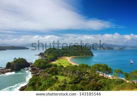Bay of Islands - stock photo