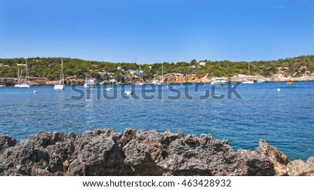 Bay of Portinatx Ibiza