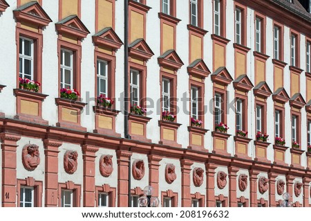 Bayreuth, Germany. Old Castle. - stock photo