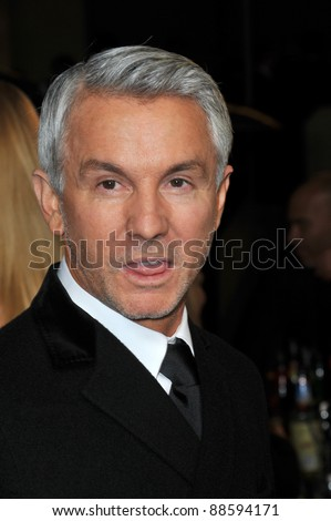 Baz Luhrman at the 63rd Annual Directors Guild of America Awards at the Grand Ballroom at Hollywood & Highland complex, Hollywood.. January 29, 2011  Los Angeles, CA Picture: Paul Smith / Featureflash