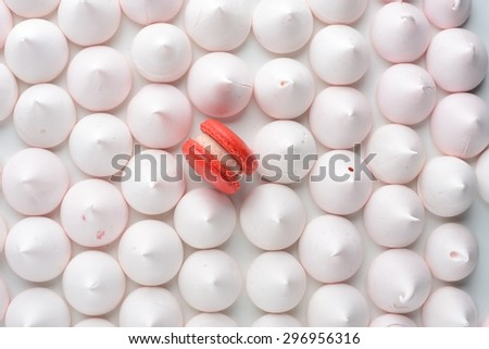 be different among the rest - stock photo