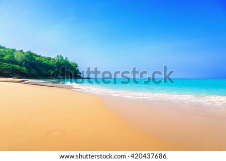 Beach - stock photo