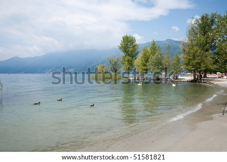 Beach Ascona - Switzerland