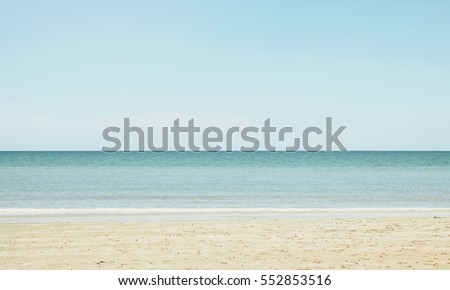 beach background in retro pastel color