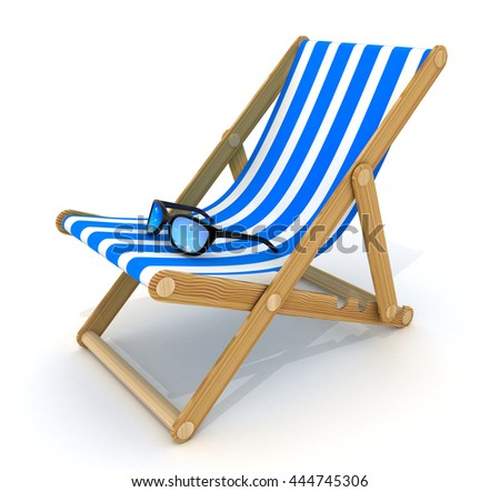 beach bed blue only (done in 3d rendering)
