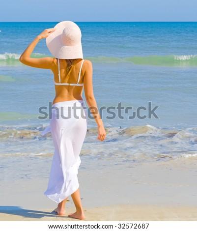 beach bliss - stock photo