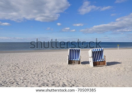 beach chair side by side