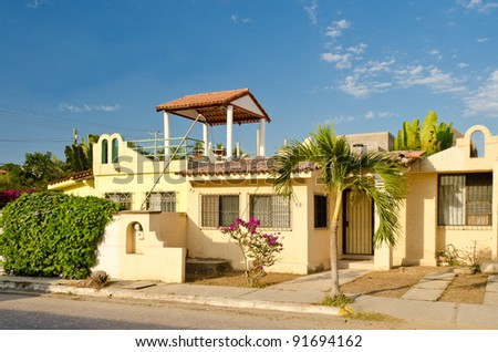 Beach house for rent in Mexico