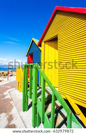 Beach houses in St.James South Africa