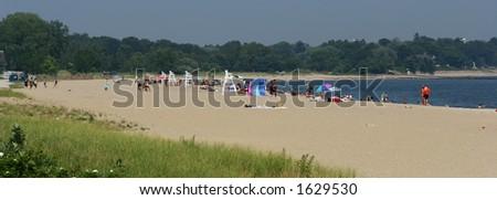 Beach in Summer - stock photo