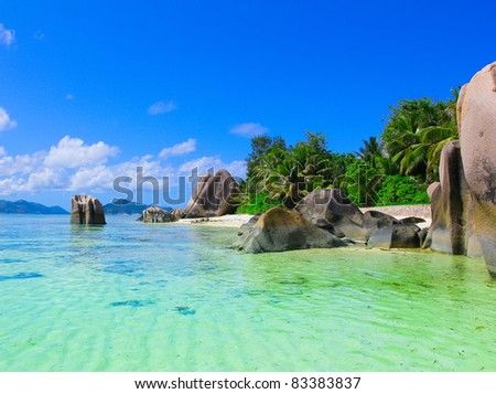 Beach Nature Paradise - stock photo
