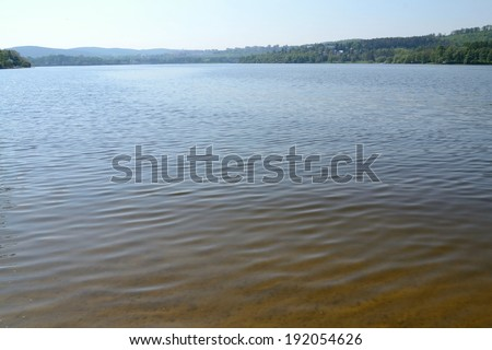 beach near Brno Czech Republic - stock photo