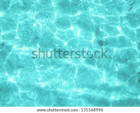 beach perfect white sand turquoise water balearic islands Spain - stock photo