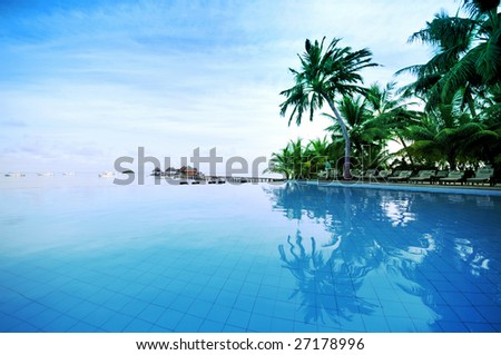 Beach Resorts - stock photo