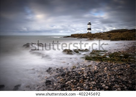 Beach Scene at Penmon on Anglesey