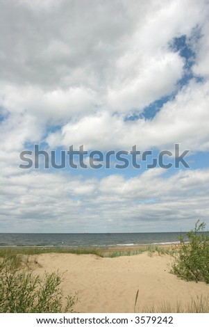 Beach view (Baltic sea coast, Latvia)