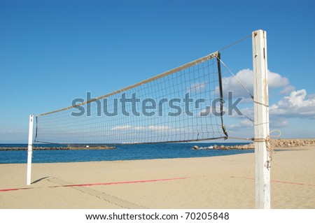 BEACH VOLLEY2 - stock photo