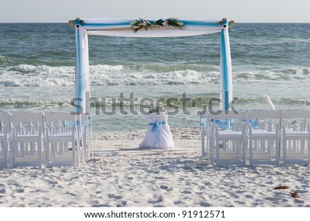 Beach Wedding - stock photo