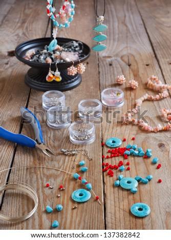 Bead making accessories - stock photo