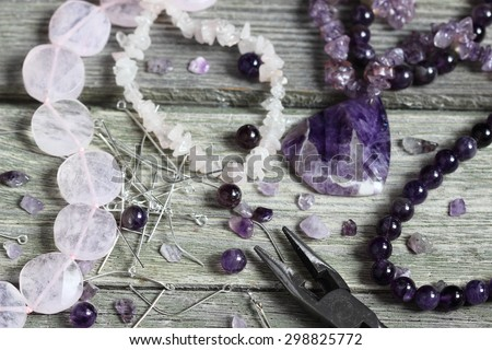 Bead making accessories - stock photo