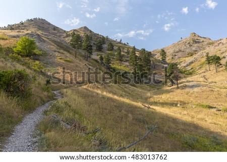 Bear Butte Hiking Trail