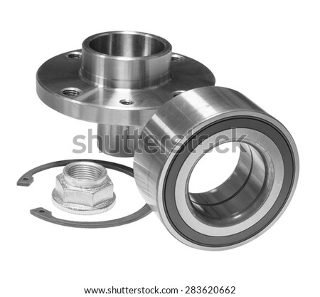 Bearing of hub - stock photo
