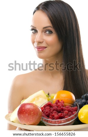 girls squirts naked with fruit