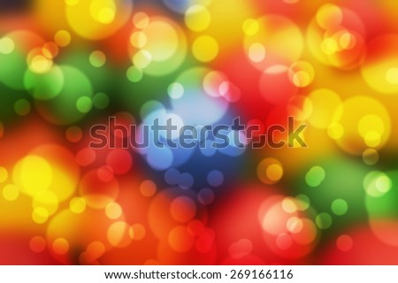 Beautiful abstract background of colorful balls  - stock photo