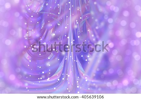 beautiful abstract background violet bokeh circles. Christmas background.