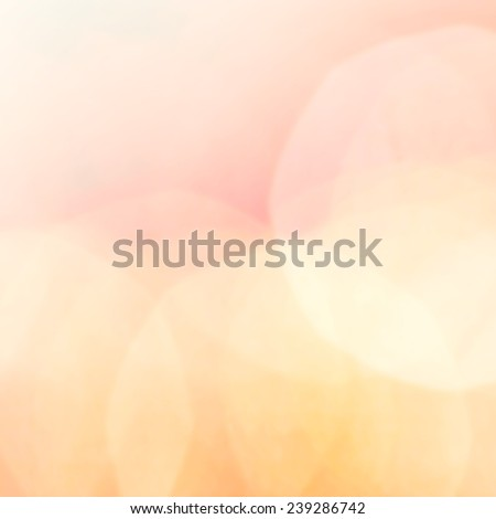 Beautiful Abstract background with de focused bokeh sun lights for holiday poster, ad, festive messages, wallpaper. Spring or summer abstract nature background  - stock photo
