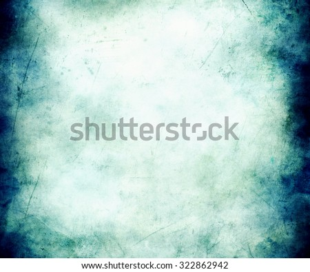 Beautiful Abstract Blue Faded Texture Background - stock photo