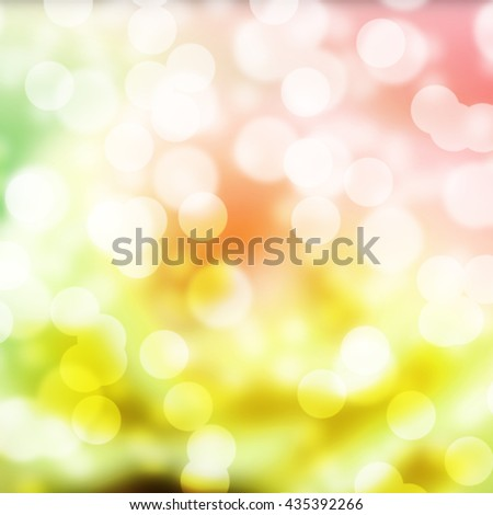 Beautiful abstract bokeh light background