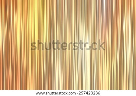Beautiful abstract vertical golden background with lines - stock photo