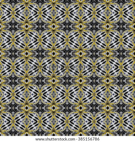 Beautiful abstract vintage hand painted seamless picture  can be used as interior pattern or clothes pattern.