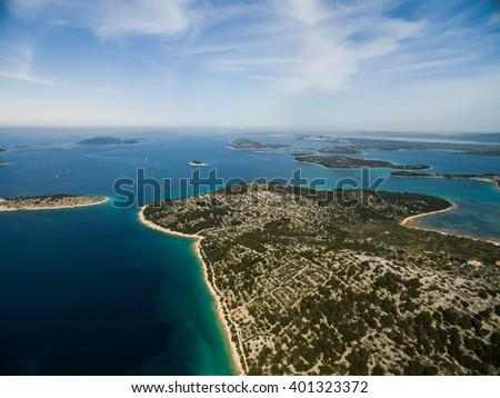 Beautiful Adriatic, Croatia - stock photo