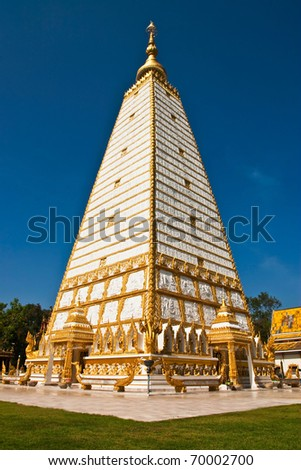Beautiful ancient pagoda in Thailand