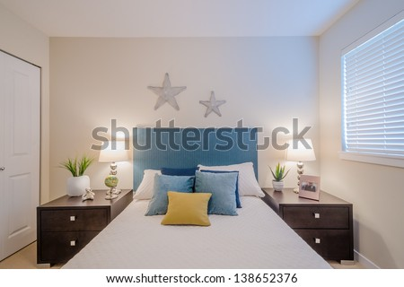 Beautiful and modern home and hotel bedroom interior design. Bedroom Interior Stock Photos  Royalty Free Images   Vectors