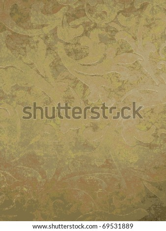 Beautiful arabian style ornamented background. More of this motif & more ornaments in my port. - stock photo
