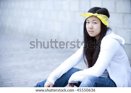 Postmenopausal asian women with